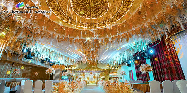 天津菜馆4楼婚礼堂